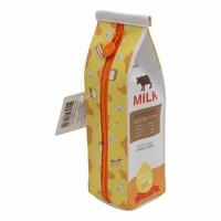 Milk carton pencil case - butter