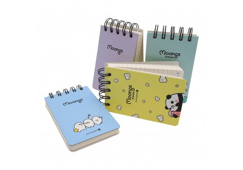 Moongs Moongs memo book - small