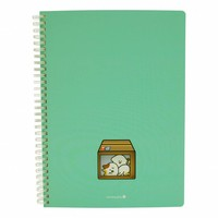 Cute window notebook large