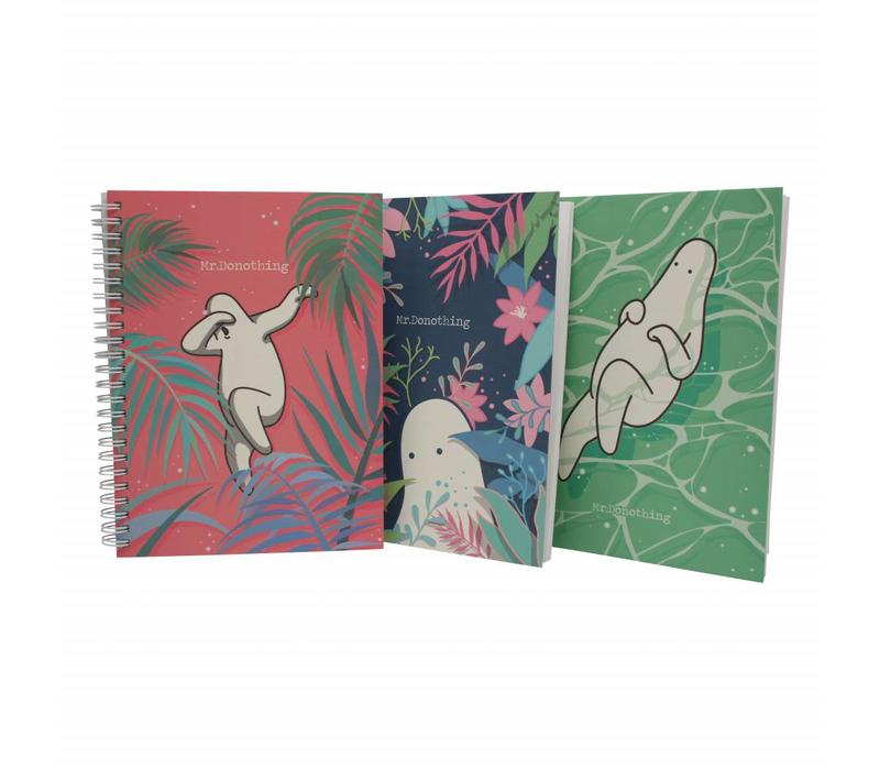 Spring notebook Green