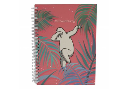 Mr. Donothing Spring notebook Red