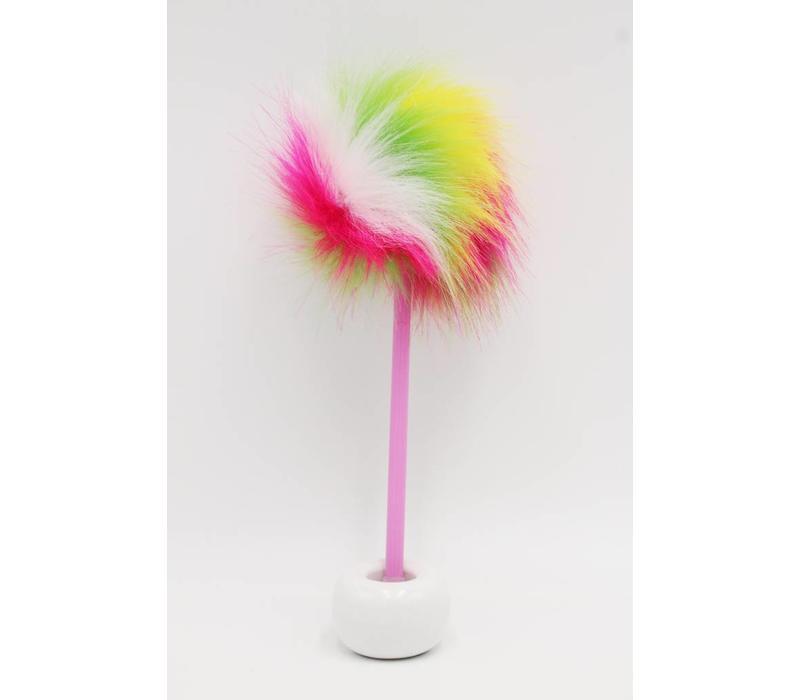 Pom Pom pen rainbow