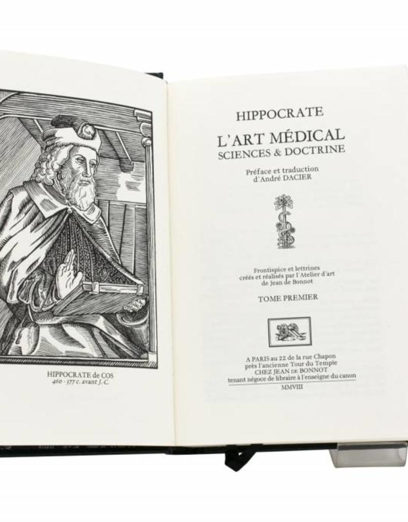 Hippocrate de Cos  Hippocrate de Cos  - L'Art Médical, Sciences et Doctrine - Tome 1