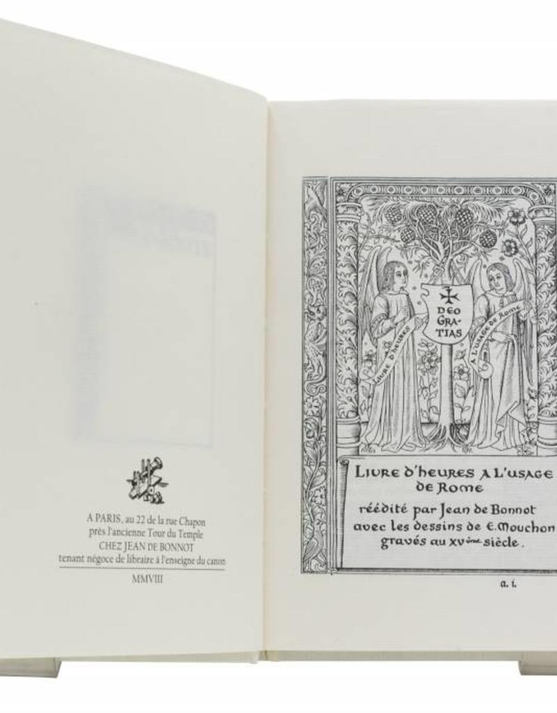 Anonyme Livre d'Heures à l'usage de Rome