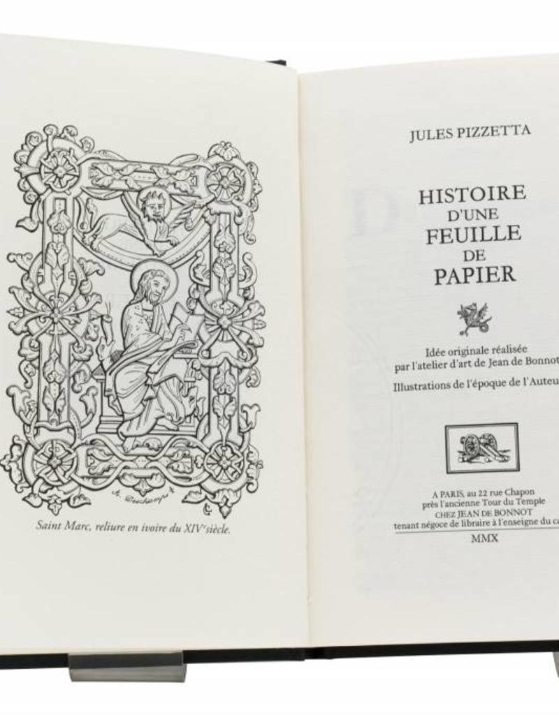 Pizzetta (Jules) Pizzetta (Jules) - Histoire d'une feuille de papier