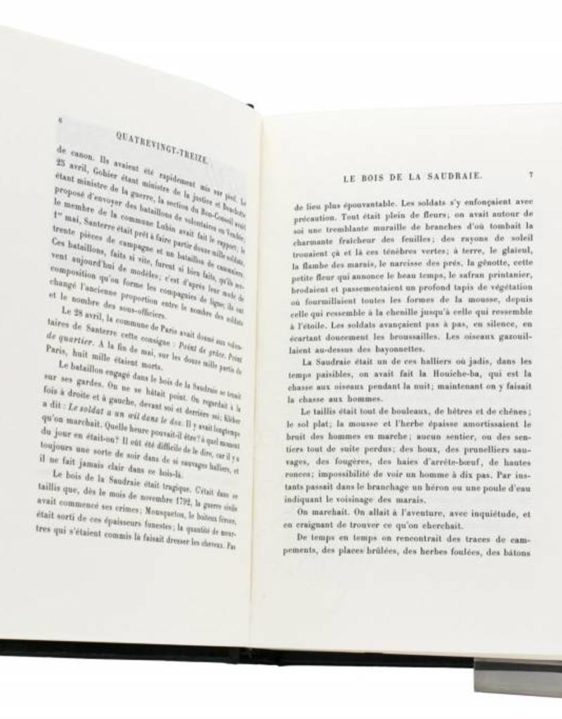 Hugo (Victor) Hugo (Victor) - Quatre-vingt treize - Tome 14