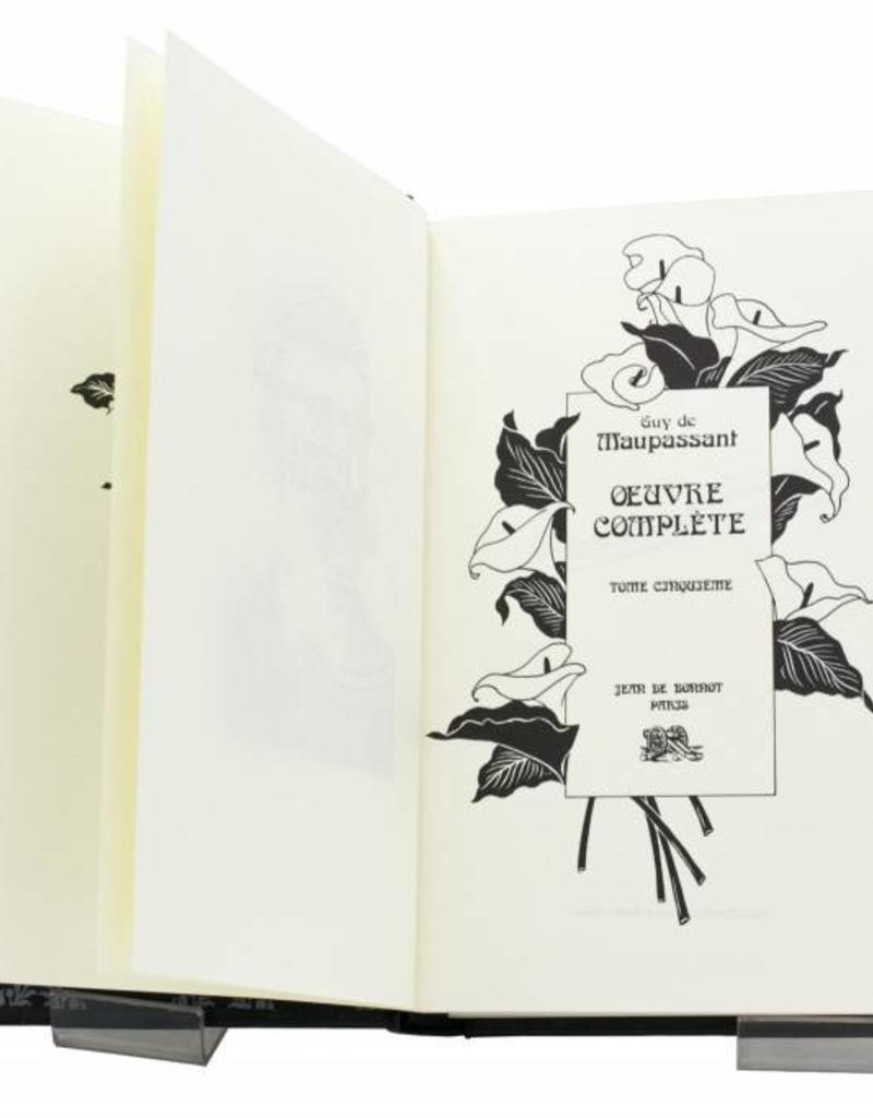Maupassant (Guy de) Maupassant (Guy de) - Œuvres Complètes - Tome 5