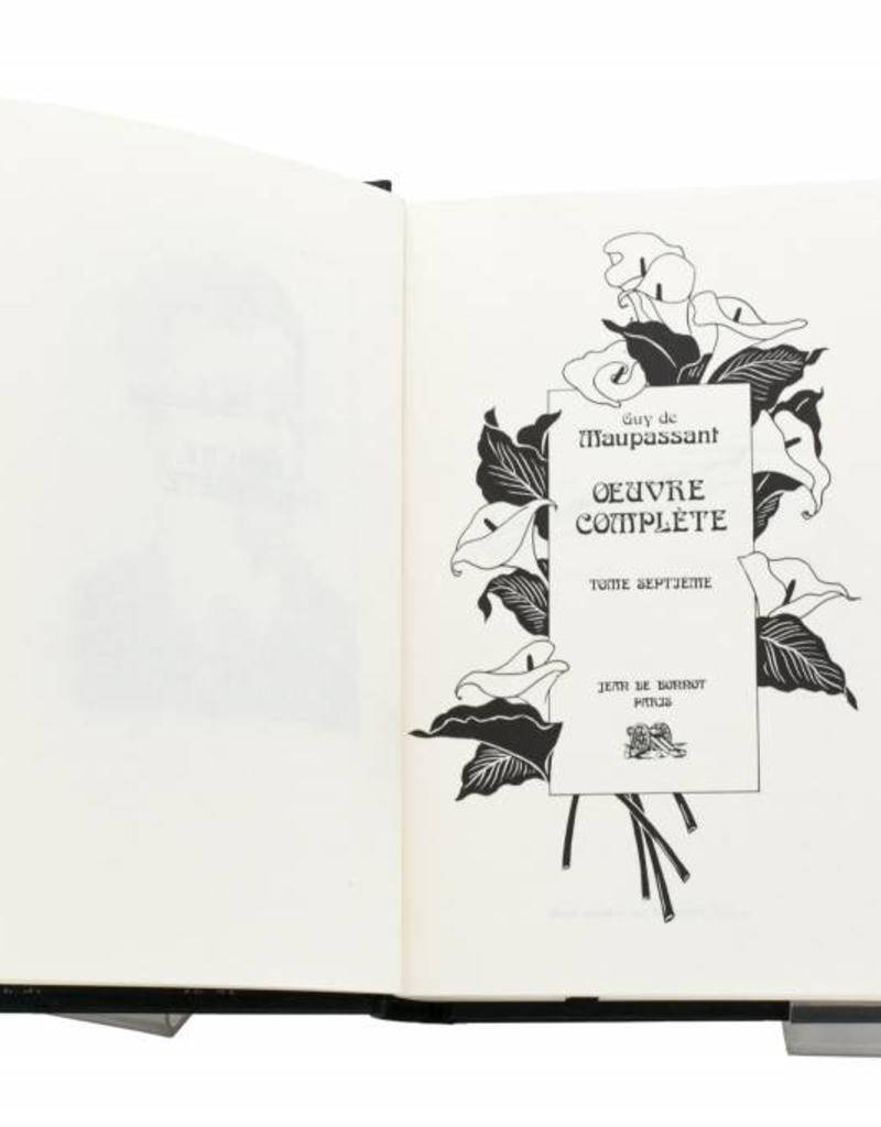 Maupassant (Guy de) Maupassant (Guy de) - Œuvres Complètes - Tome 7