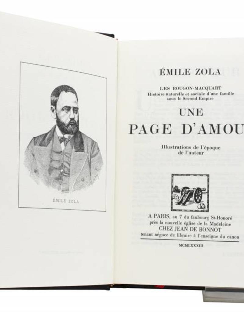 Zola (Emile) Zola (Emile) - Une Page d'Amour - Tome 11