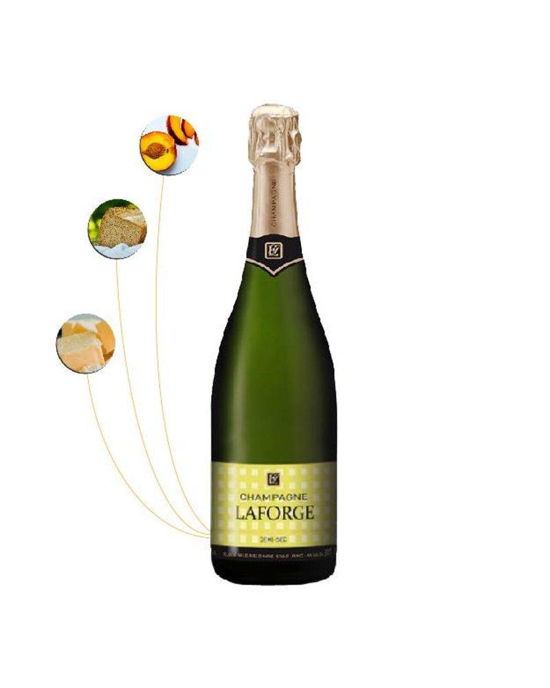 Guy Laforge Grande Cuvée Champagne  Demi-Sec