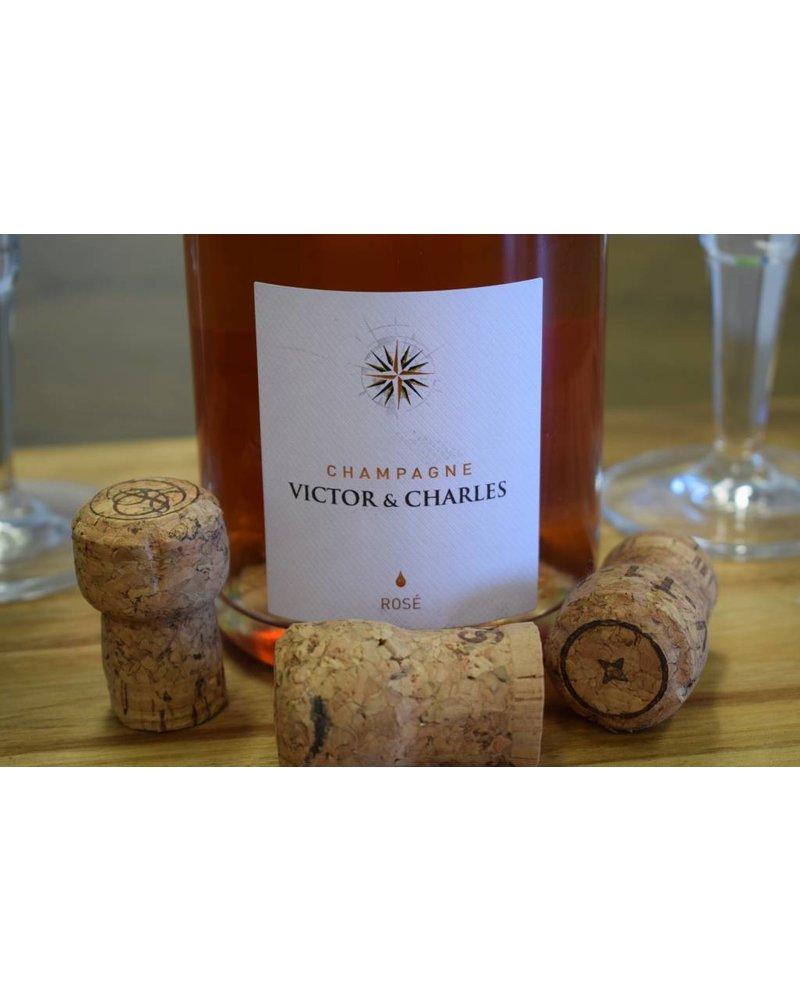 Victor & Charles Le Rosé - Champagner