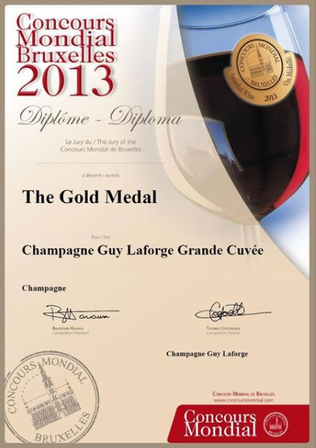 Guy laforce champagne