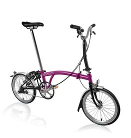 Brompton M3LU Berry Crush / Black