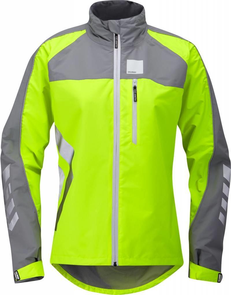 Hump Strobe Women's Waterproof Jacket Yellow