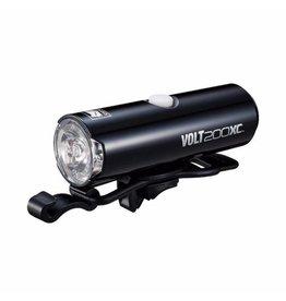 Cateye VOLT 200 XC USB RECHARGEABLE FRONT LIGHT (200 LUMEN):