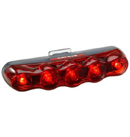 Cateye TL-LD610 REAR LIGHT: BLACK