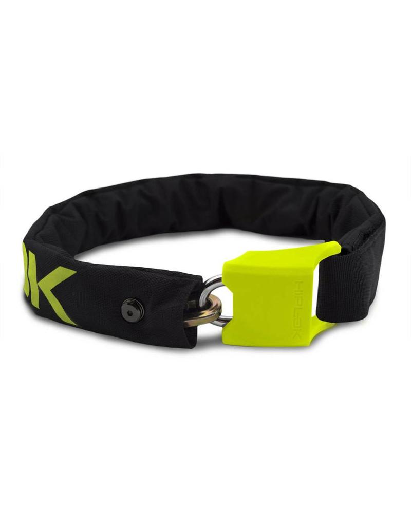Hiplok ORIGINAL V1.5 WEARABLE CHAIN LOCK (SILVER SOLD SECURE) LIME