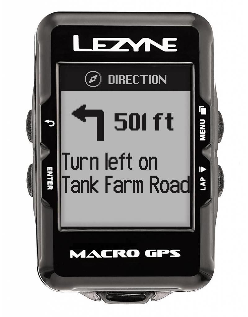 Lezyne Macro GPS Navigate