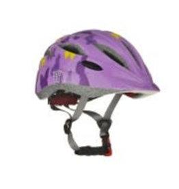 Tuzii PYXIS Purple Butterfly In-Mold Kids Helmet S