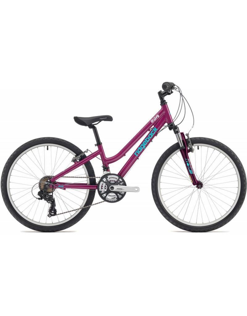 Ridgeback Destiny 24 inch wheel purple
