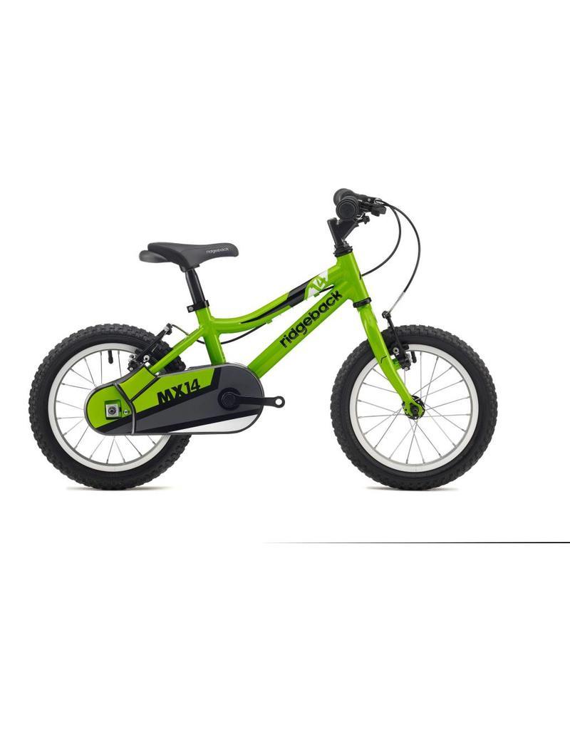 Ridgeback MX14 14 inch wheel green