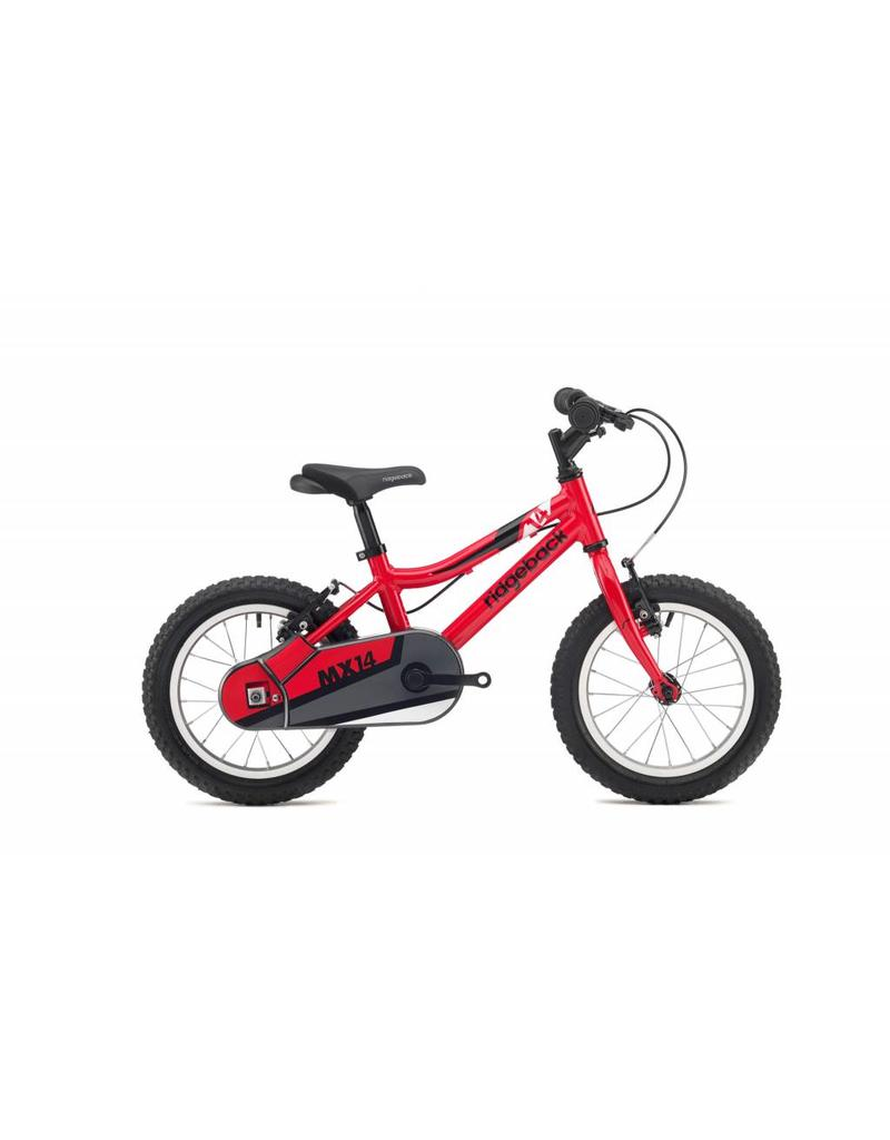 Ridgeback MX14 14 inch wheel red