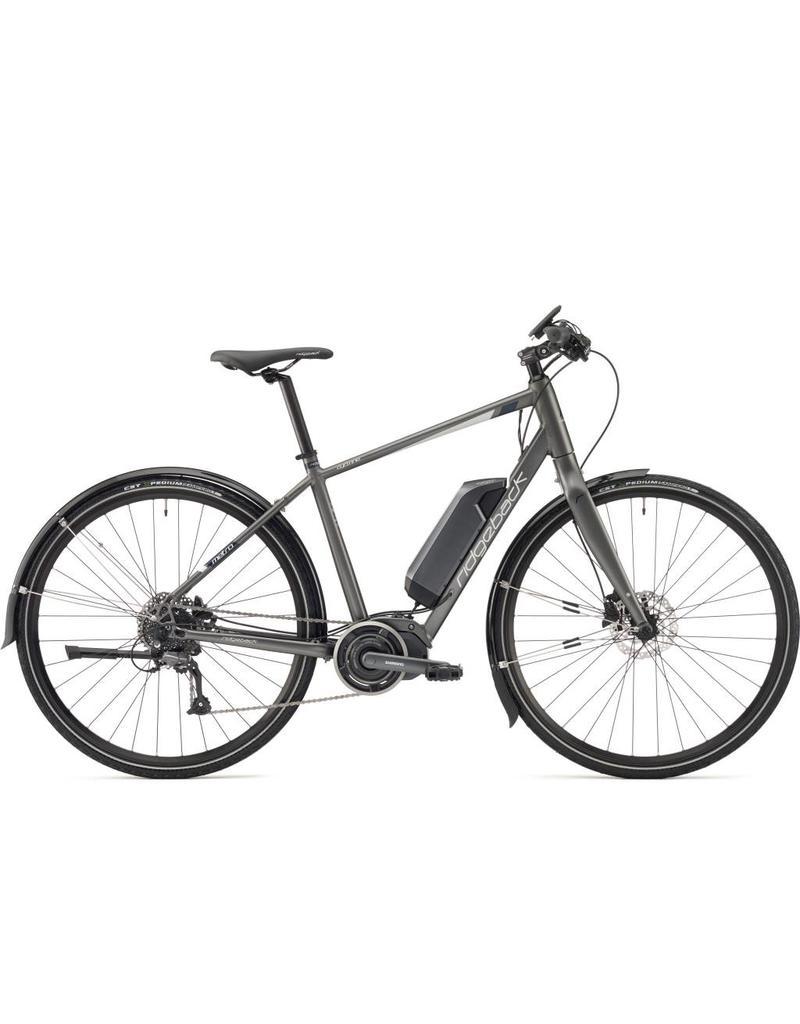 Ridgeback Cyclone Grey Electric Assist Bike