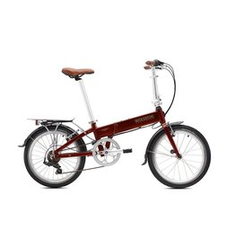 Bickerton Argent 1707 Country 7spd Fells Red Folding Bike