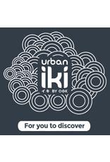 Urban Iki Rear Seat with Frame Mount - Bincho Black / Kurumi Brown