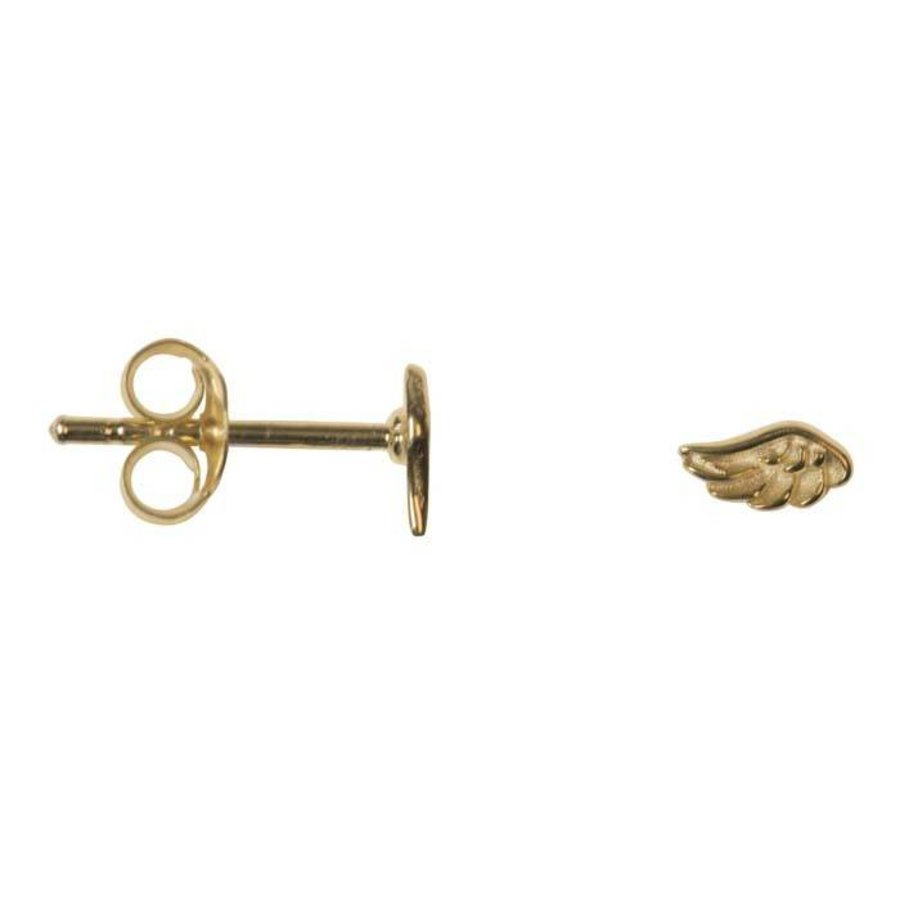 Mini Wing Stud - Gold Plated