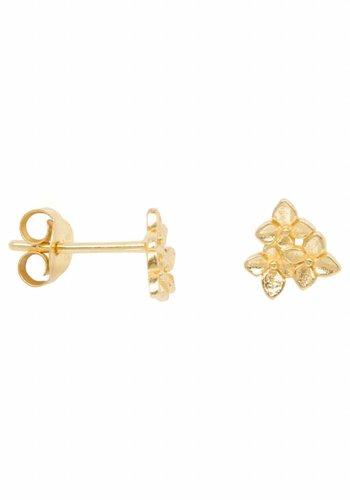 Flower Earring - Gold Plated