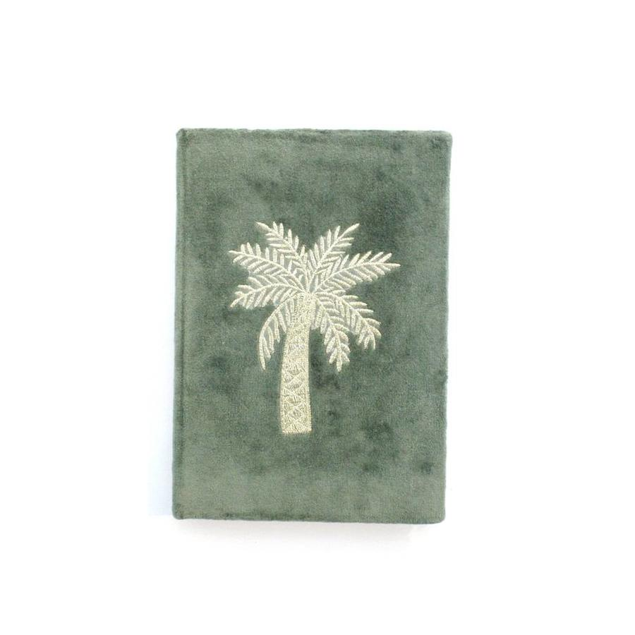 Notebook Palmtree Embroidery - Green