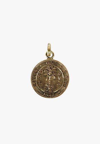Lucky Coin Brass