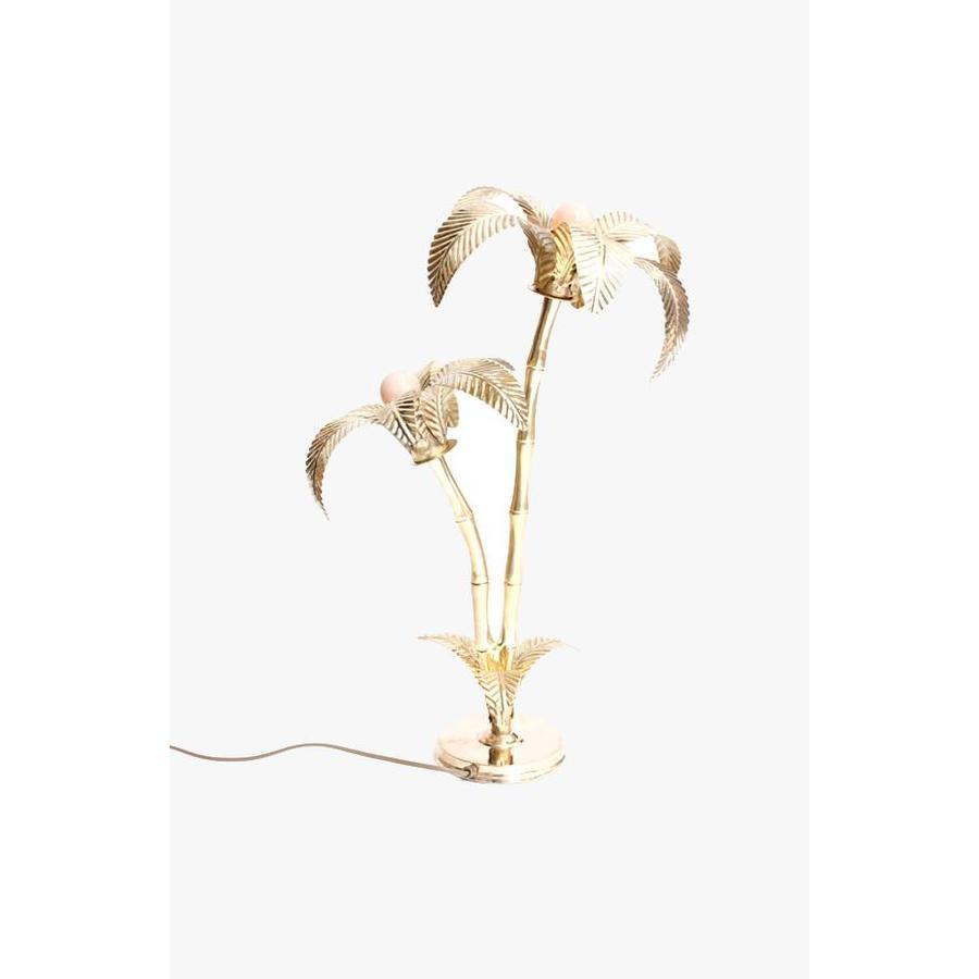Palmtree Lamp Brass