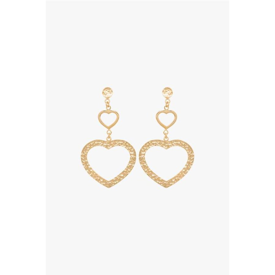 Sweetheart Earrings in Sterling Silver