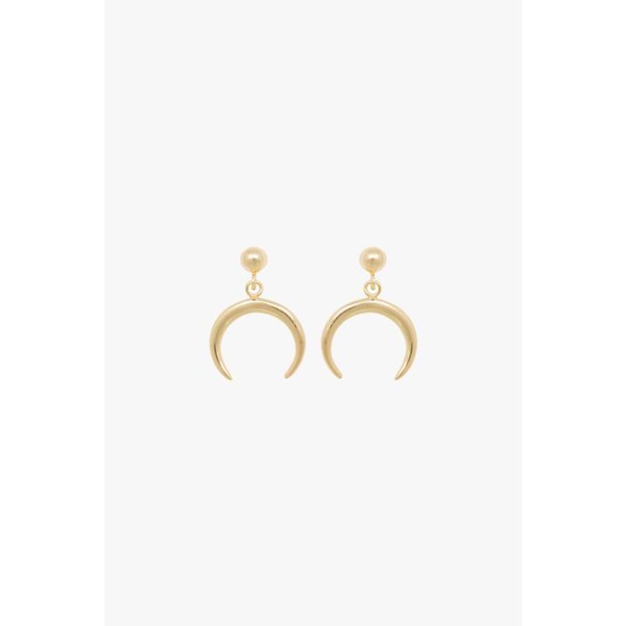 Tusk Earrings - Gold