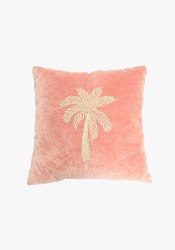 Velvet Cushion Makkamalee - Pink