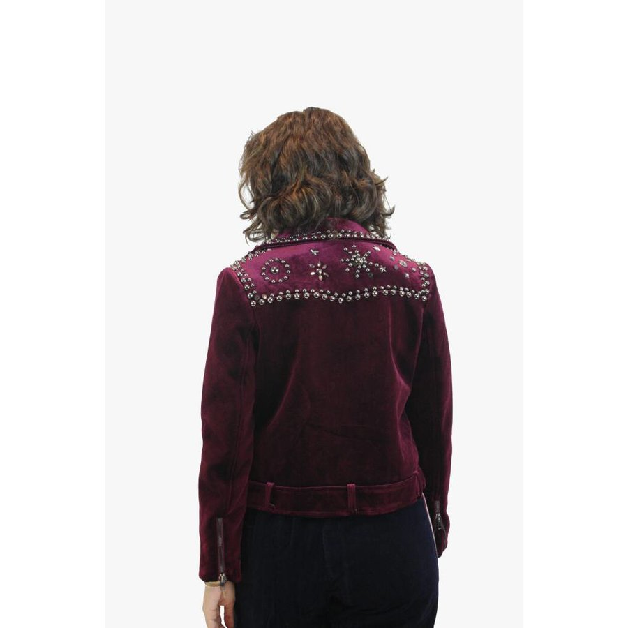 Biker Jacket - Bordeaux