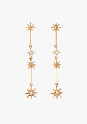 Delicate Starbust Earrings