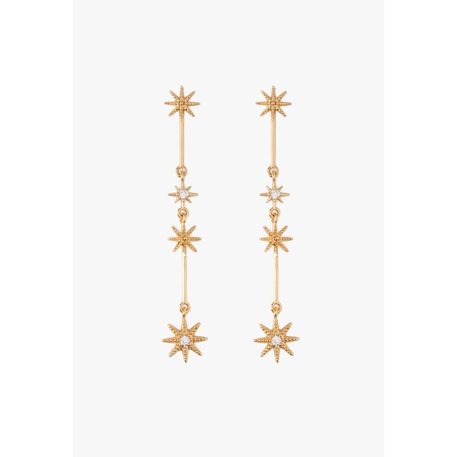 Delicate Starbust Earrings