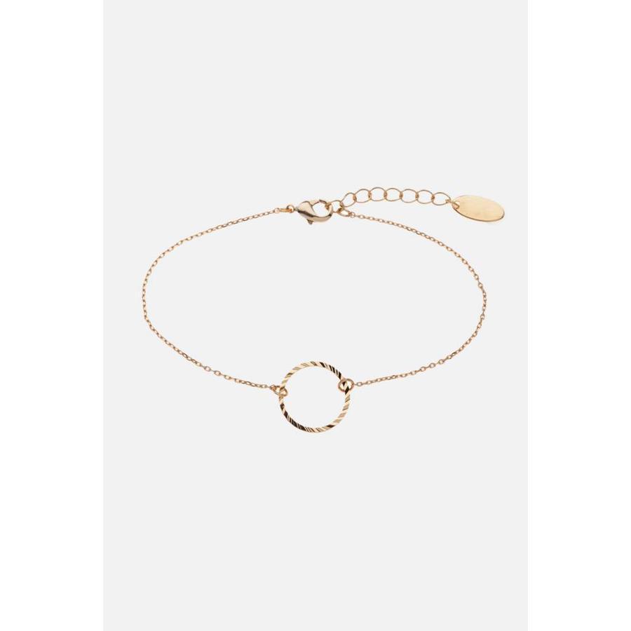 Golden Circle Bracelet