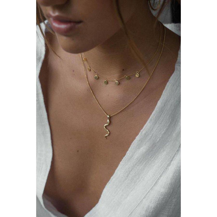 Snake Necklace - Silver