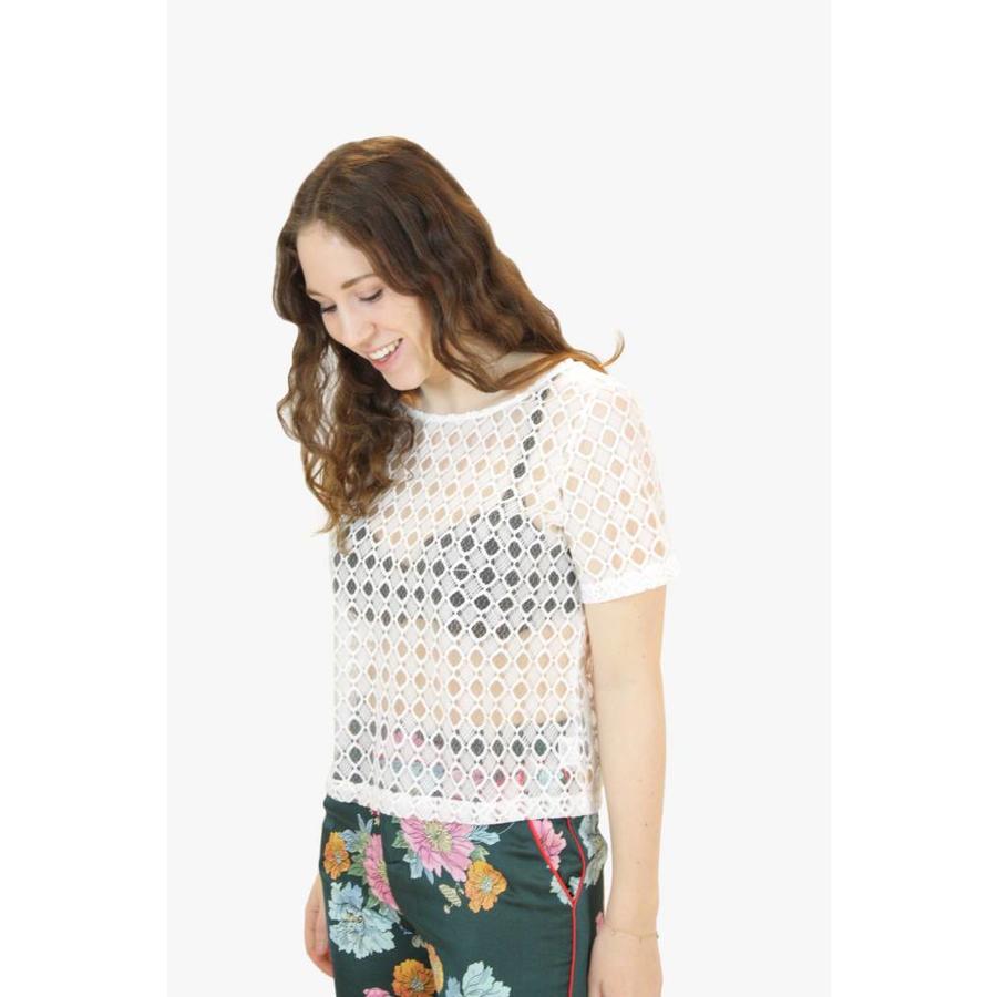 Crochet White Top