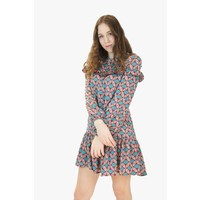 Rose Tea Dress - Blue