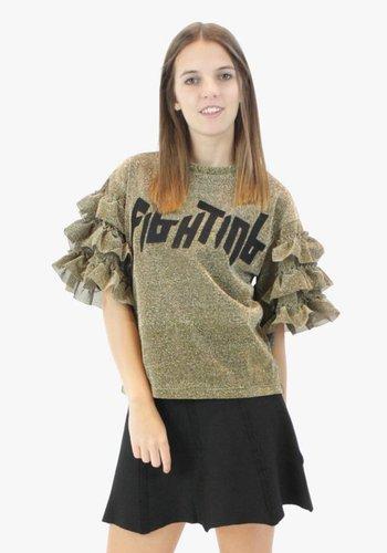 Fringe Shirt Gold