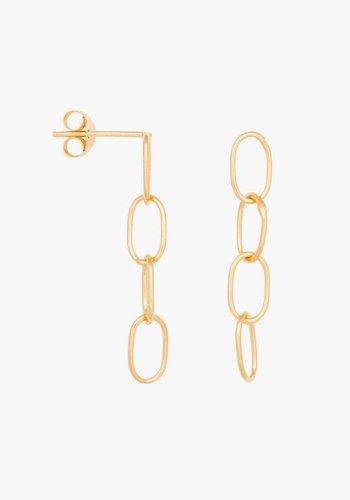 Chain Earrings - Gold