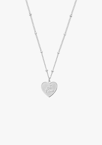 Je T'aime Necklace Silver