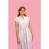Sweet Pastels Maxi Dress