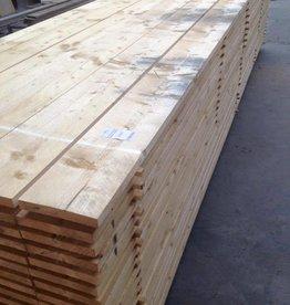Steigerhout gedroogd