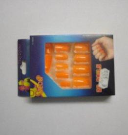 ESPA nagels fluo oranje